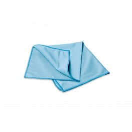 Салфетка из микрофибры гладкая 35*35 см., для стекла 270 гр/м2