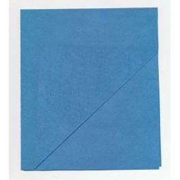 Салфетка микроспан (синяя) 34*40 см.