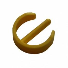 Втулка-фиксатор шарнира держателя и рукоятки желтая