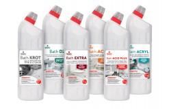 Bath – средства для комплексной уборки санитарных комнат и бассейнов