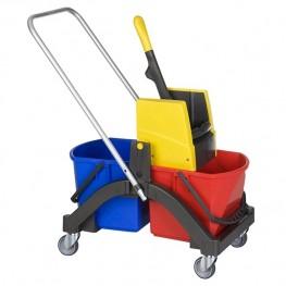 VERMOP, Тележка для влажной уборки Aquva 2х17 л